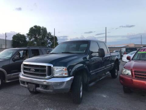 1999 Ford F-250 Super Duty for sale at BELOW BOOK AUTO SALES in Idaho Falls ID