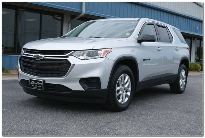 2020 Chevrolet Traverse for sale at STRICKLAND AUTO GROUP INC in Ahoskie NC