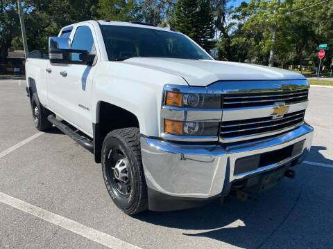 2015 Chevrolet Silverado 2500HD for sale at LUXURY AUTO MALL in Tampa FL