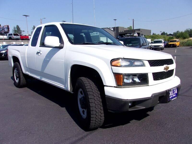 2012 Chevrolet Colorado for sale at Delta Auto Sales in Milwaukie OR