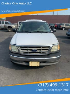2003 Ford F-150 for sale at Choice One Auto LLC in Beech Grove IN