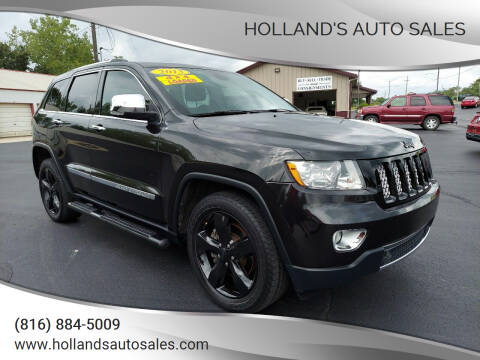 2013 Jeep Grand Cherokee for sale at Holland's Auto Sales in Harrisonville MO