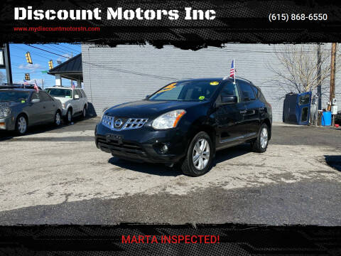 2013 Nissan Rogue for sale at Discount Motors Inc in Madison TN