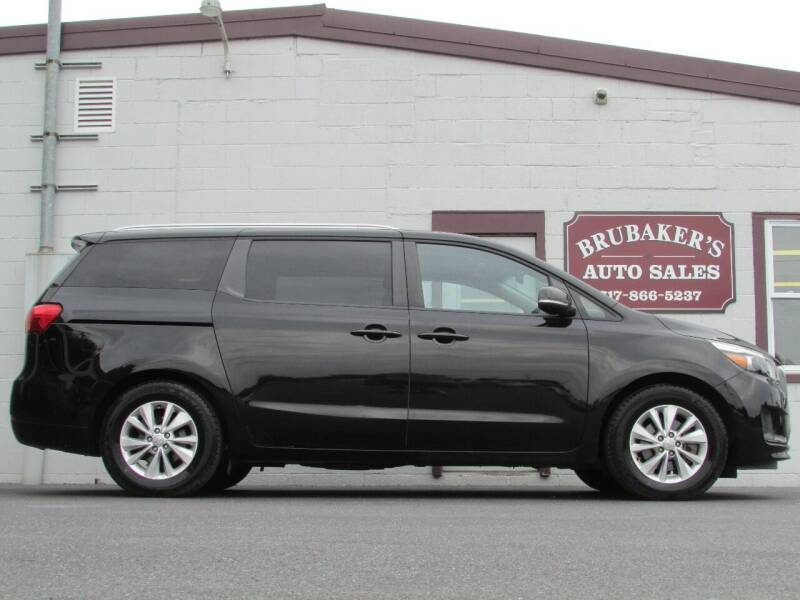 2016 Kia Sedona for sale at Brubakers Auto Sales in Myerstown PA