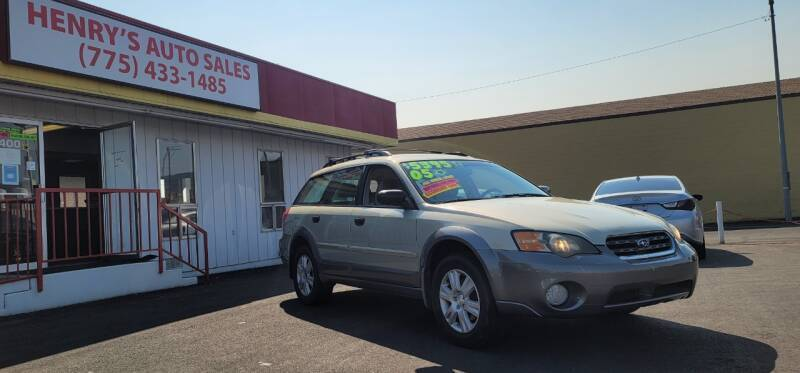 2005 Subaru Outback for sale at Henry's Autosales, LLC in Reno NV