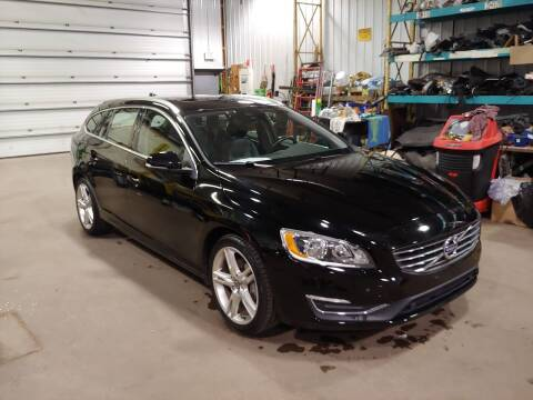 2016 Volvo V60 for sale at Strandbergs Auto Inc in Centuria WI