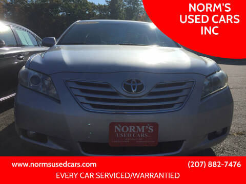 2009 Toyota Camry for sale at NORM'S USED CARS INC in Wiscasset ME
