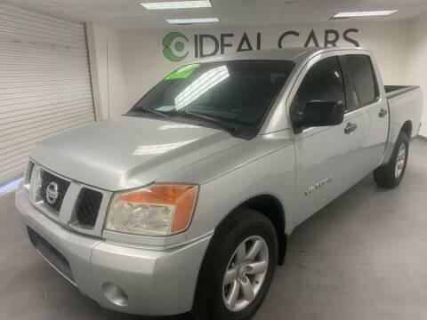 2010 Nissan Titan for sale at Ideal Cars Atlas in Mesa AZ