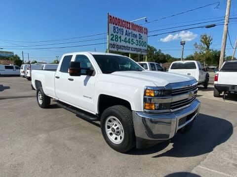 2015 Chevrolet Silverado 3500HD for sale at RODRIGUEZ MOTORS CO. in Houston TX