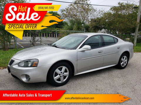 2006 Pontiac Grand Prix for sale at Affordable Auto Sales & Transport in Pompano Beach FL