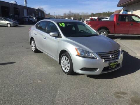 2015 Nissan Sentra for sale at SHAKER VALLEY AUTO SALES in Enfield NH