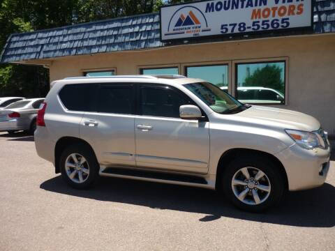 2012 Lexus GX 460 for sale at Mountain View Motors Inc in Colorado Springs CO