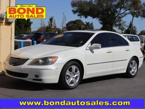 2005 Acura RL for sale at Bond Auto Sales in St Petersburg FL