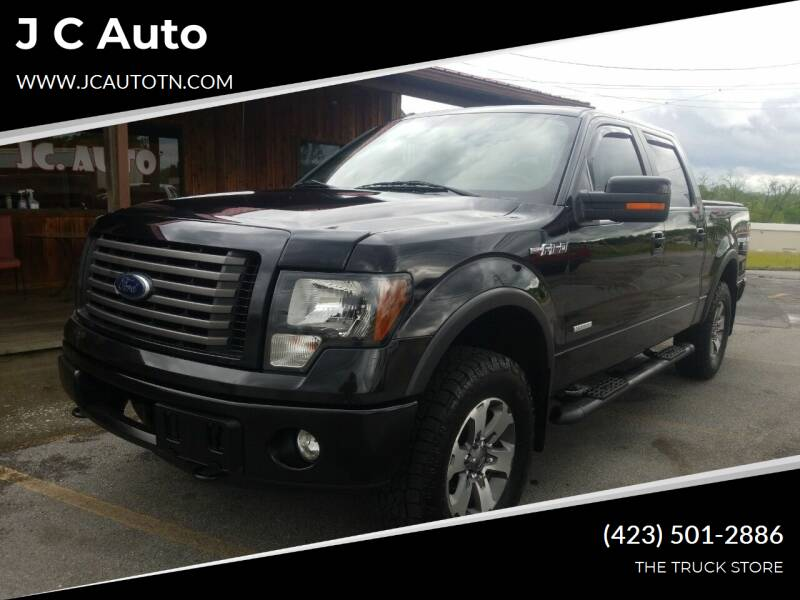 2012 Ford F-150 for sale at J C Auto in Johnson City TN