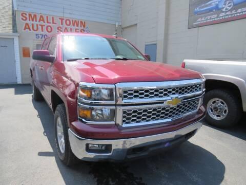 2015 Chevrolet Silverado 1500 for sale at Small Town Auto Sales in Hazleton PA