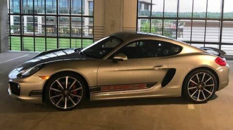2014 Porsche Cayman for sale at TEXAS MOTOR WORKS in Arlington TX