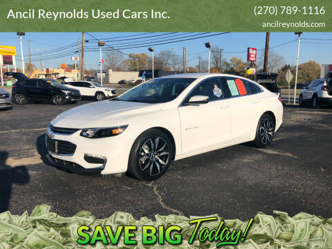 2017 Chevrolet Malibu for sale at Ancil Reynolds Used Cars Inc. in Campbellsville KY