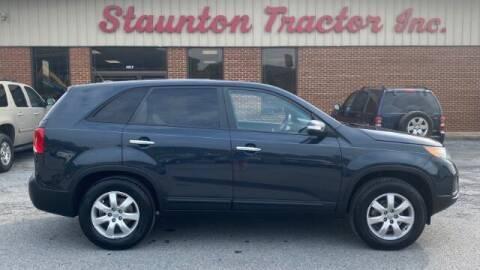 2013 Kia Sorento for sale at STAUNTON TRACTOR INC in Staunton VA