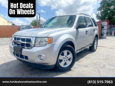 2009 Ford Escape for sale at Hot Deals On Wheels in Tampa FL
