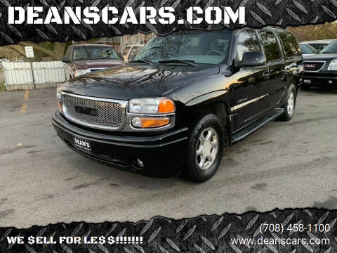 2002 GMC Yukon XL for sale at DEANSCARS.COM in Bridgeview IL