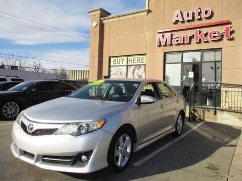 2012 Toyota Camry for sale at Auto Market in Oklahoma City OK