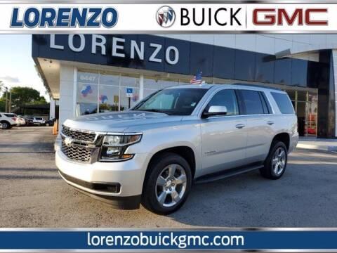 2019 Chevrolet Tahoe for sale at Lorenzo Buick GMC in Miami FL