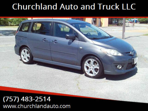 2008 Mazda MAZDA5 for sale at Churchland Auto and Truck LLC in Portsmouth VA