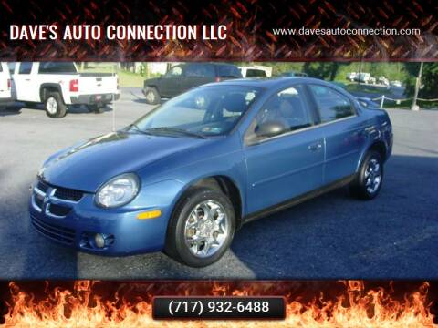 2003 Dodge Neon for sale at Dave's Auto Connection LLC in Etters PA