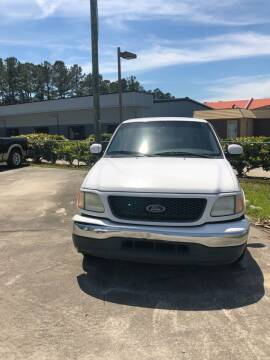 2003 Ford F-150 for sale at Gralin Hampton Auto Sales in Summerville SC