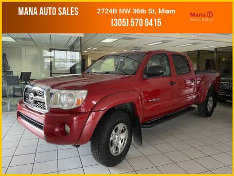 2011 Toyota Tacoma for sale at MANA AUTO SALES in Miami FL