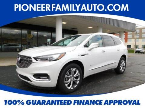 2020 Buick Enclave for sale at Pioneer Family Preowned Autos in Williamstown WV