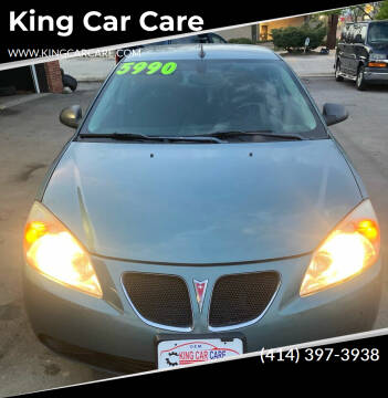 2009 Pontiac G6 for sale at King Car Care in Milwaukee WI