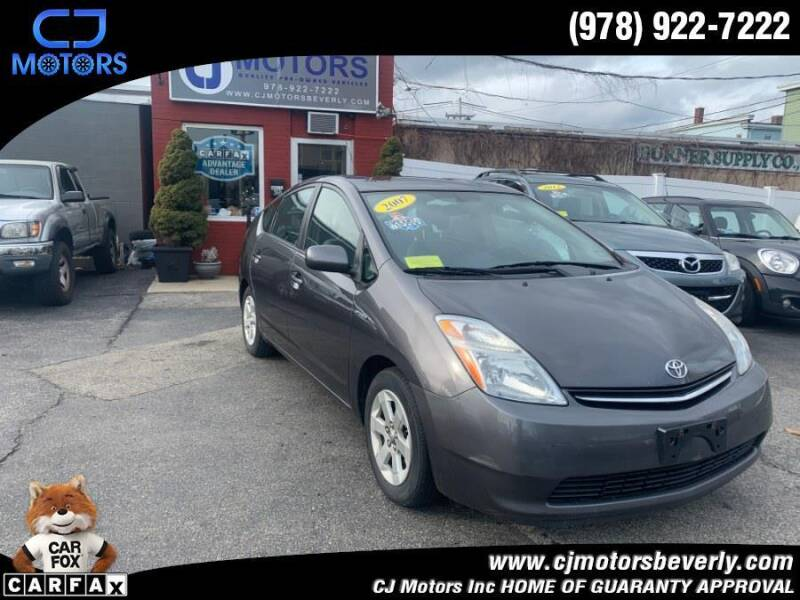 2007 Toyota Prius for sale at CJ Motors Inc. in Beverly MA