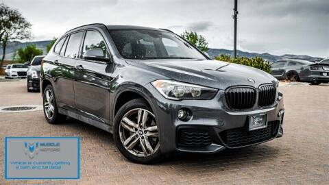 2018 BMW X1 for sale at MUSCLE MOTORS AUTO SALES INC in Reno NV