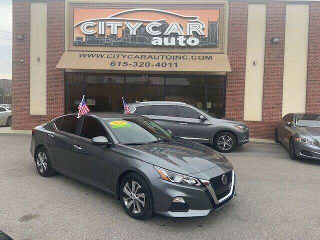 2020 Nissan Altima for sale at CITY CAR AUTO INC in Nashville TN
