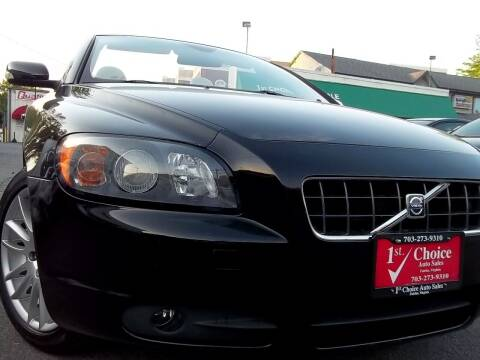 2007 Volvo C70 for sale at 1st Choice Auto Sales in Fairfax VA