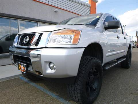 2014 Nissan Titan for sale at Torgerson Auto Center in Bismarck ND