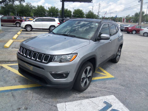 2018 Jeep Compass for sale at ORANGE PARK AUTO in Jacksonville FL