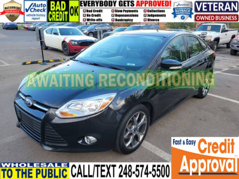 2014 Ford Focus for sale at North Oakland Motors in Waterford MI