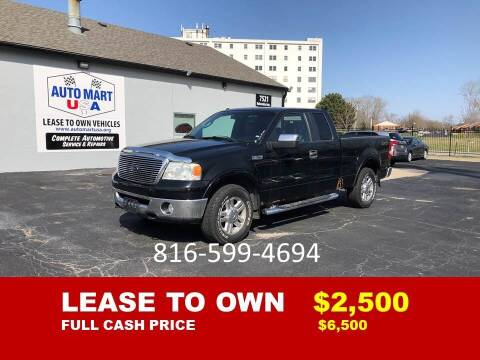 2007 Ford F-150 for sale at Auto Mart USA -Lease To Own in Kansas City MO