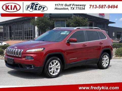 2014 Jeep Cherokee for sale at FREDY KIA USED CARS in Houston TX
