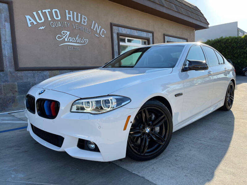 2015 BMW 5 Series for sale at Auto Hub, Inc. in Anaheim CA