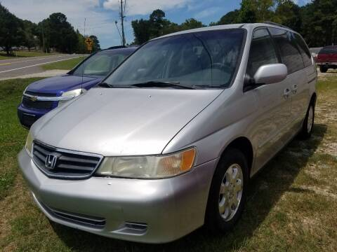 2002 Honda Odyssey for sale at Arkansas Wholesale Auto Sales in Hot Springs AR