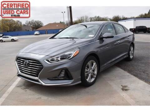 2018 Hyundai Sonata for sale at South Plains Autoplex by RANDY BUCHANAN in Lubbock TX