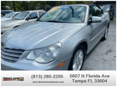 2008 Chrysler Sebring for sale at Drive Now Motors USA in Tampa FL