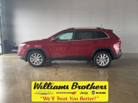 2017 Jeep Cherokee for sale at Williams Brothers - Pre-Owned Monroe in Monroe MI