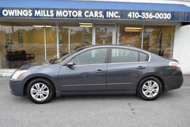 2010 Nissan Altima for sale at Owings Mills Motor Cars in Owings Mills MD