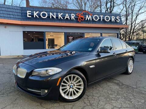 2013 BMW 5 Series for sale at Ekonkar Motors in Scotch Plains NJ