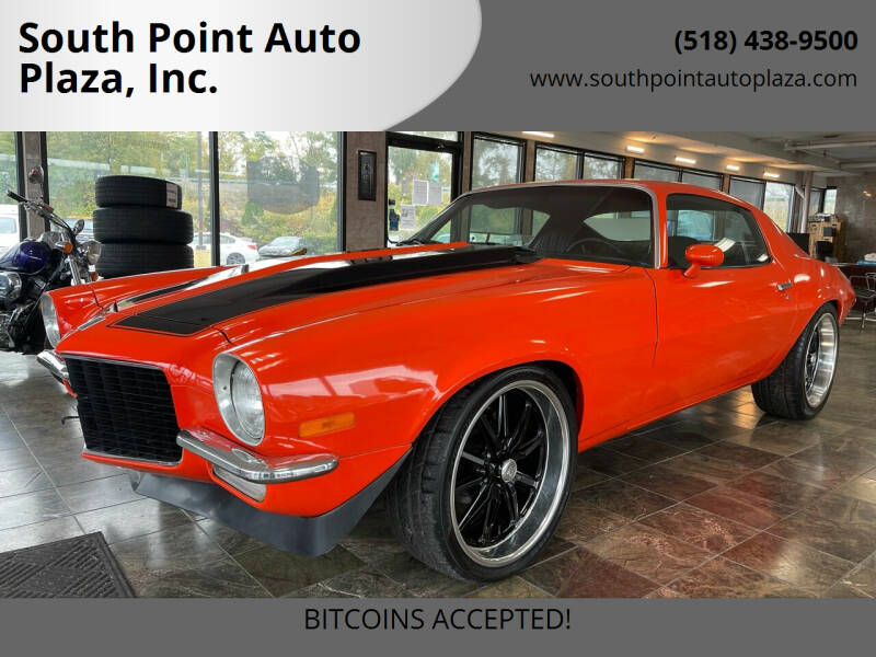 1970 Chevrolet Camaro for sale at South Point Auto Plaza, Inc. in Albany NY