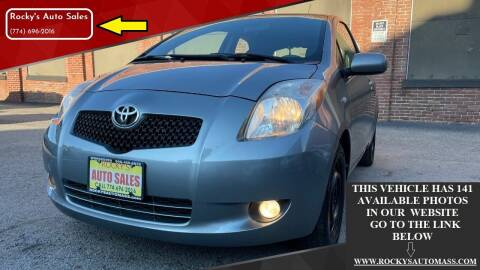 2007 Toyota Yaris for sale at Rocky's Auto Sales in Worcester MA
